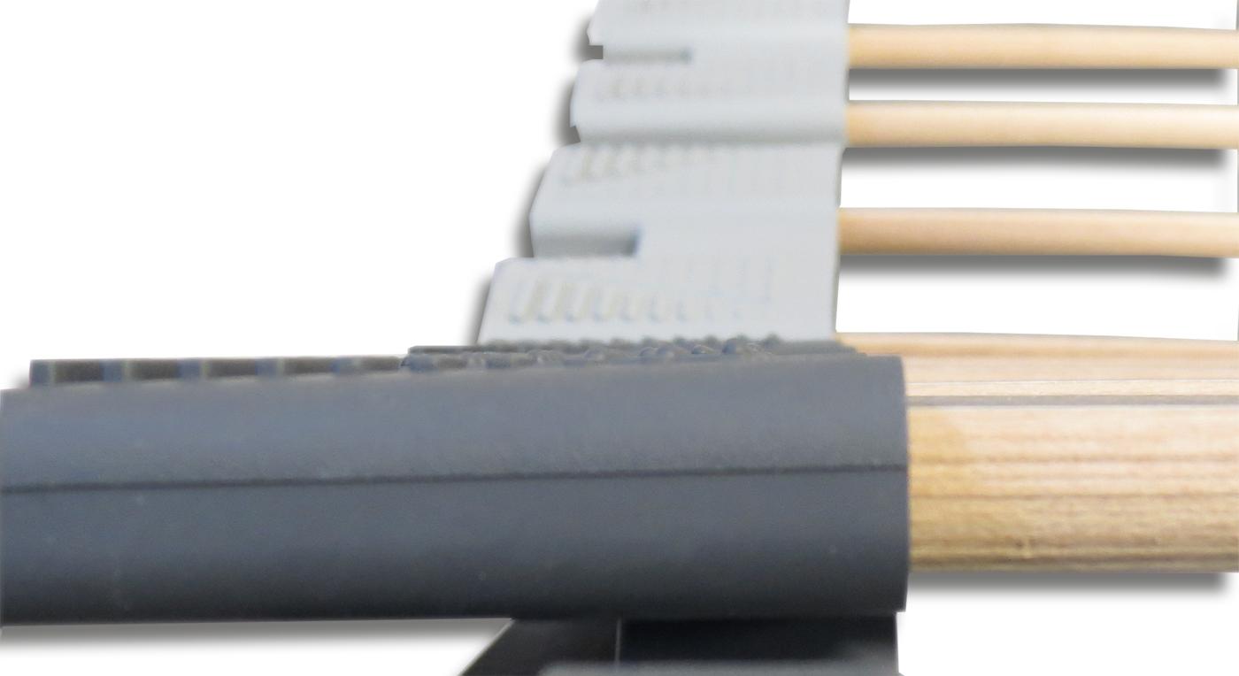 Lattenrost orthowell ultraflex XXL mit Kautschukkappen