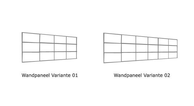 Bett Emilia Wanpaneel Varianten Skizze