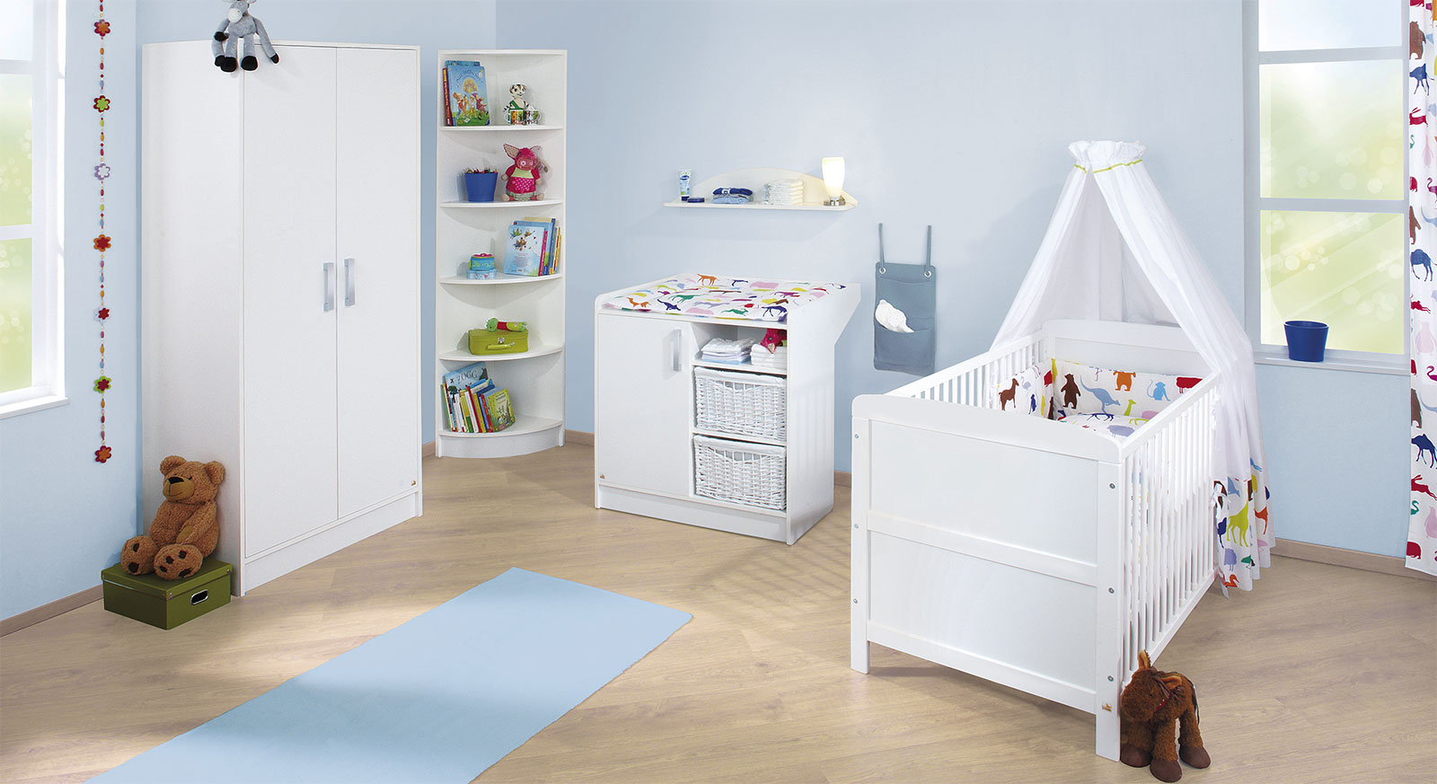 kinderzimmer komplett g nstig. Black Bedroom Furniture Sets. Home Design Ideas
