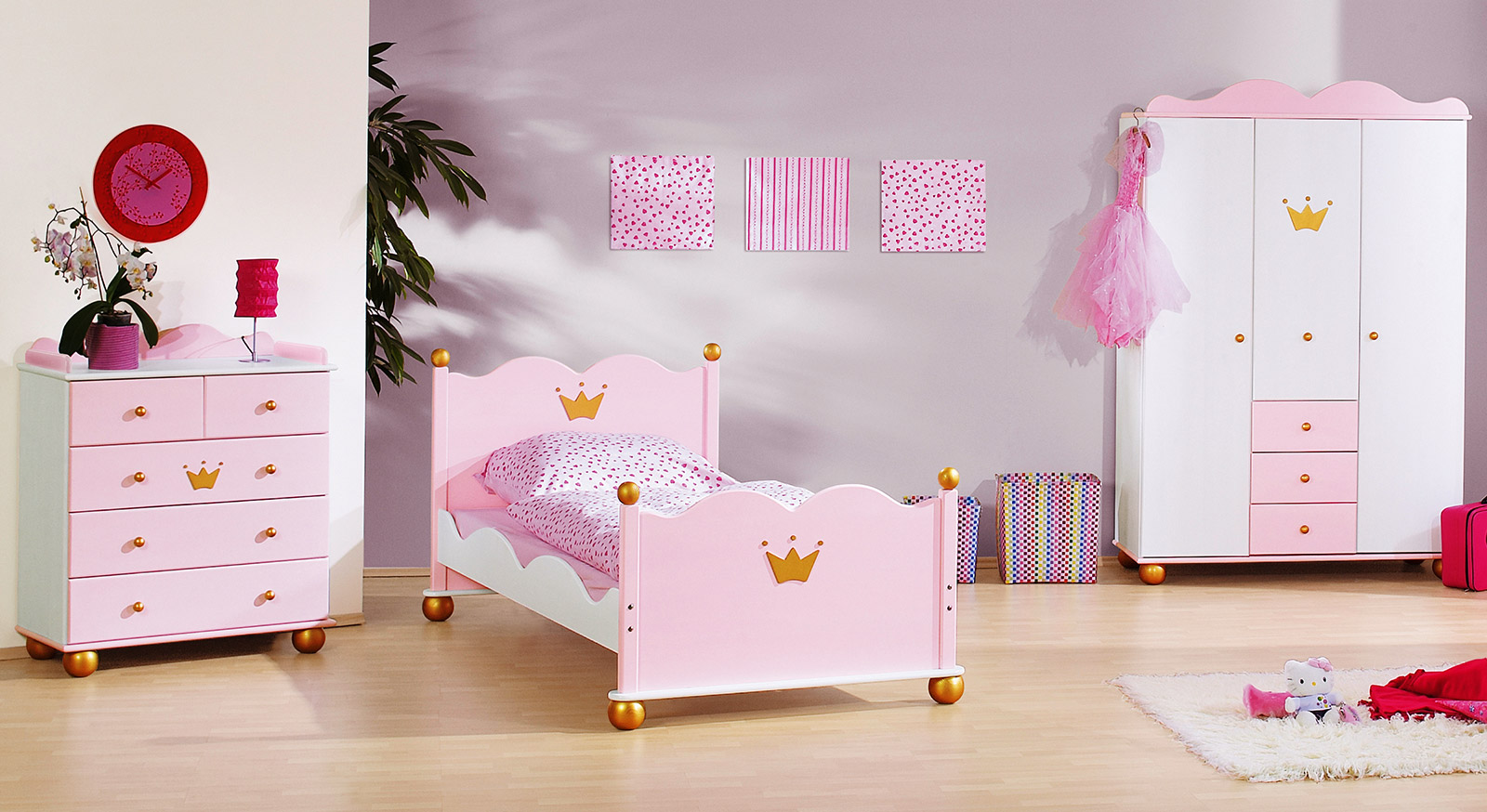 prinzessinnen kinderzimmer prinzessin karolin im online. Black Bedroom Furniture Sets. Home Design Ideas