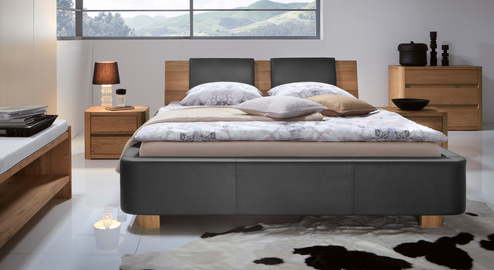 schlafzimmer petrol grau inspiration f r die gestaltung der besten r ume. Black Bedroom Furniture Sets. Home Design Ideas