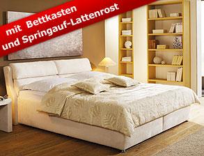 Boxspringbett 140x200 mit stauraum  Betten mit Stauraum - Stauraumbetten günstig kaufen | BETTEN.de