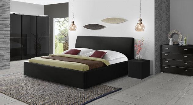 Polsterbett Firenze Comfort mit hochwertigem Kunstleder