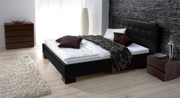 Bett Ruby schwarz elegant