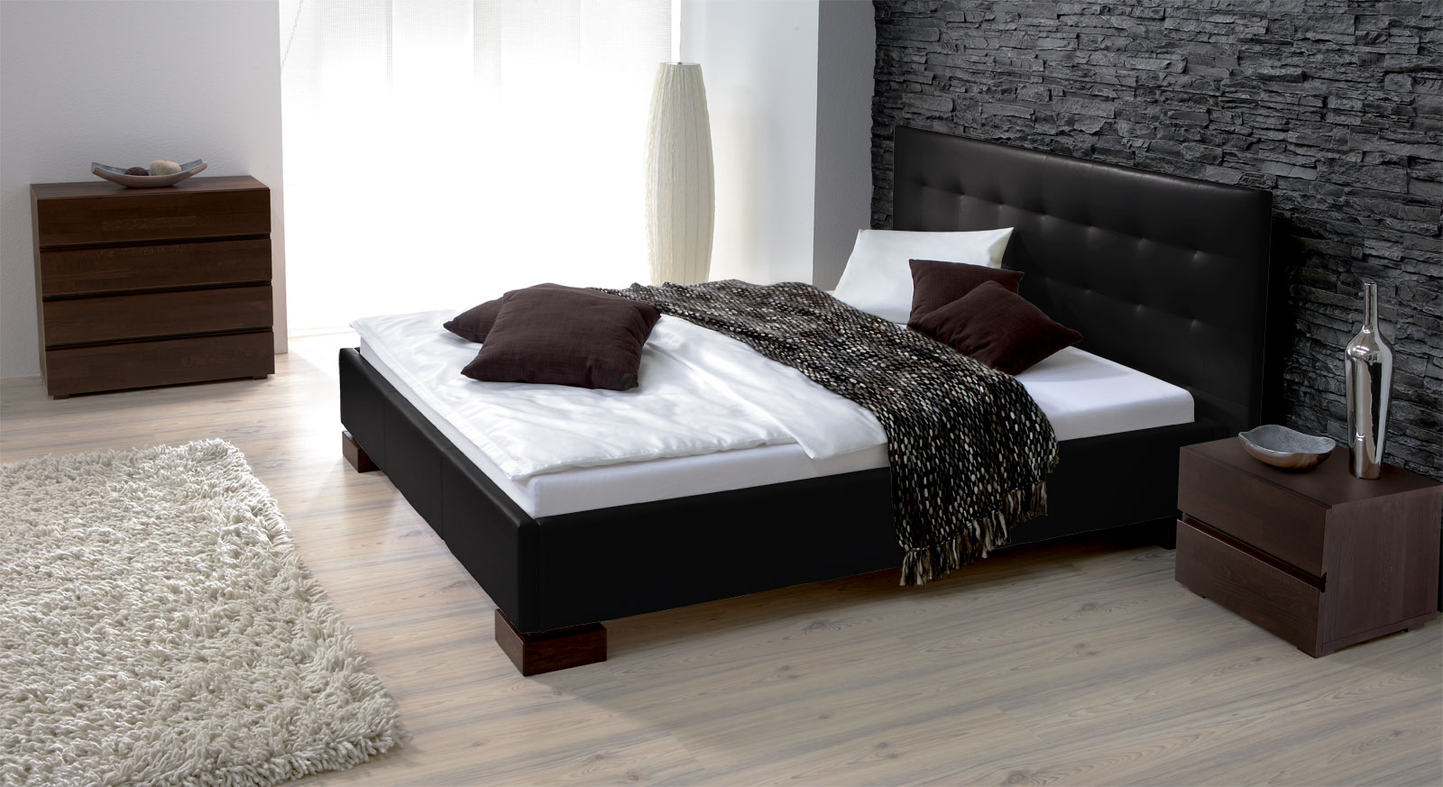 kunstleder bett in berl nge erh ltlich bett ruby. Black Bedroom Furniture Sets. Home Design Ideas