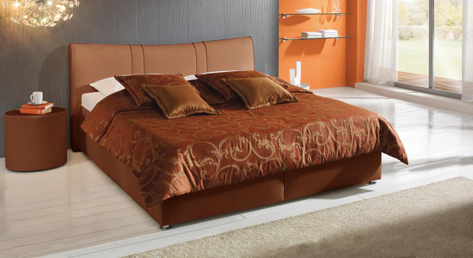 Bett Venetien terracotta kaufen