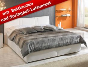 Bett 140x200 mit bettkasten  Betten mit Bettkasten und Schubladen günstig kaufen