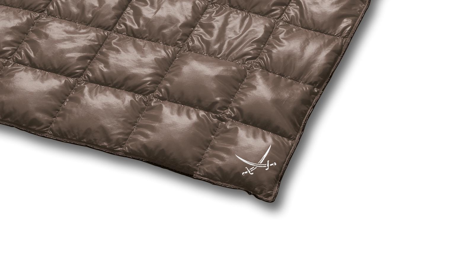 Reisedecke Ultraleicht - Bettdecke aus reinen Daunen