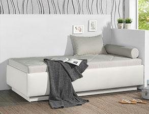 schlafsofas mit bettkasten g nstig online auf kaufen. Black Bedroom Furniture Sets. Home Design Ideas