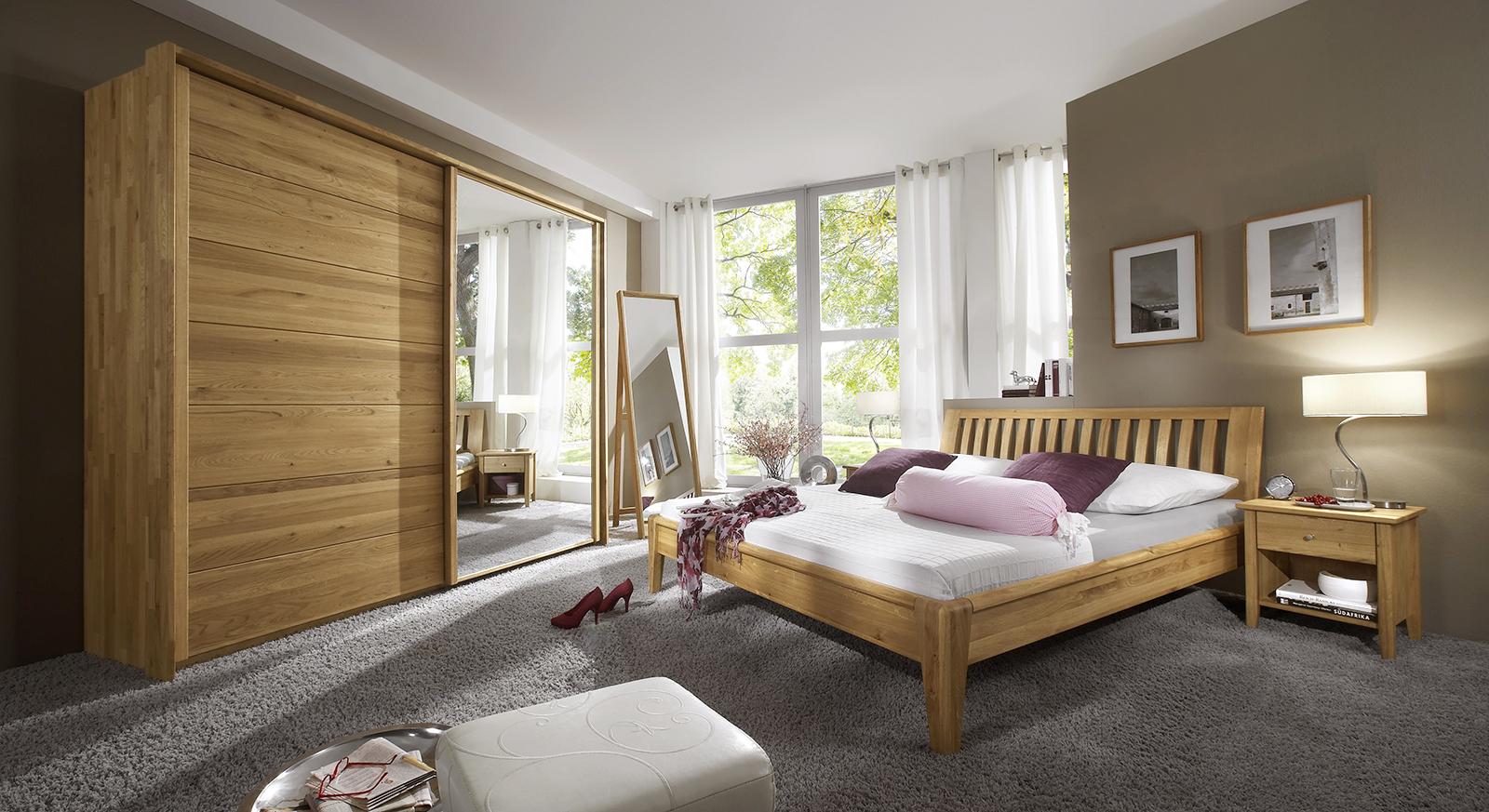 komplett-schlafzimmer aus massivholz eiche -roseville