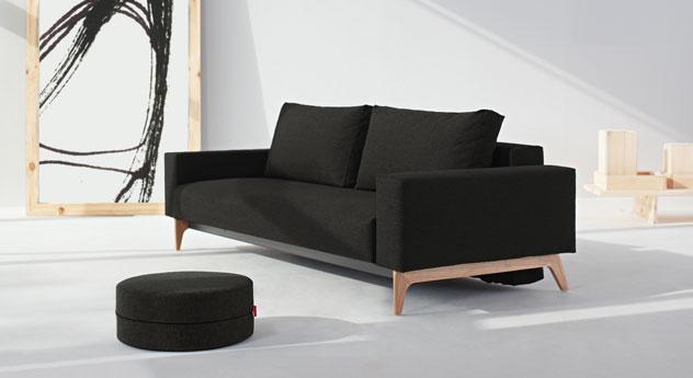 Design-Schlafsofa Derby in Braun mit passenden Produkten