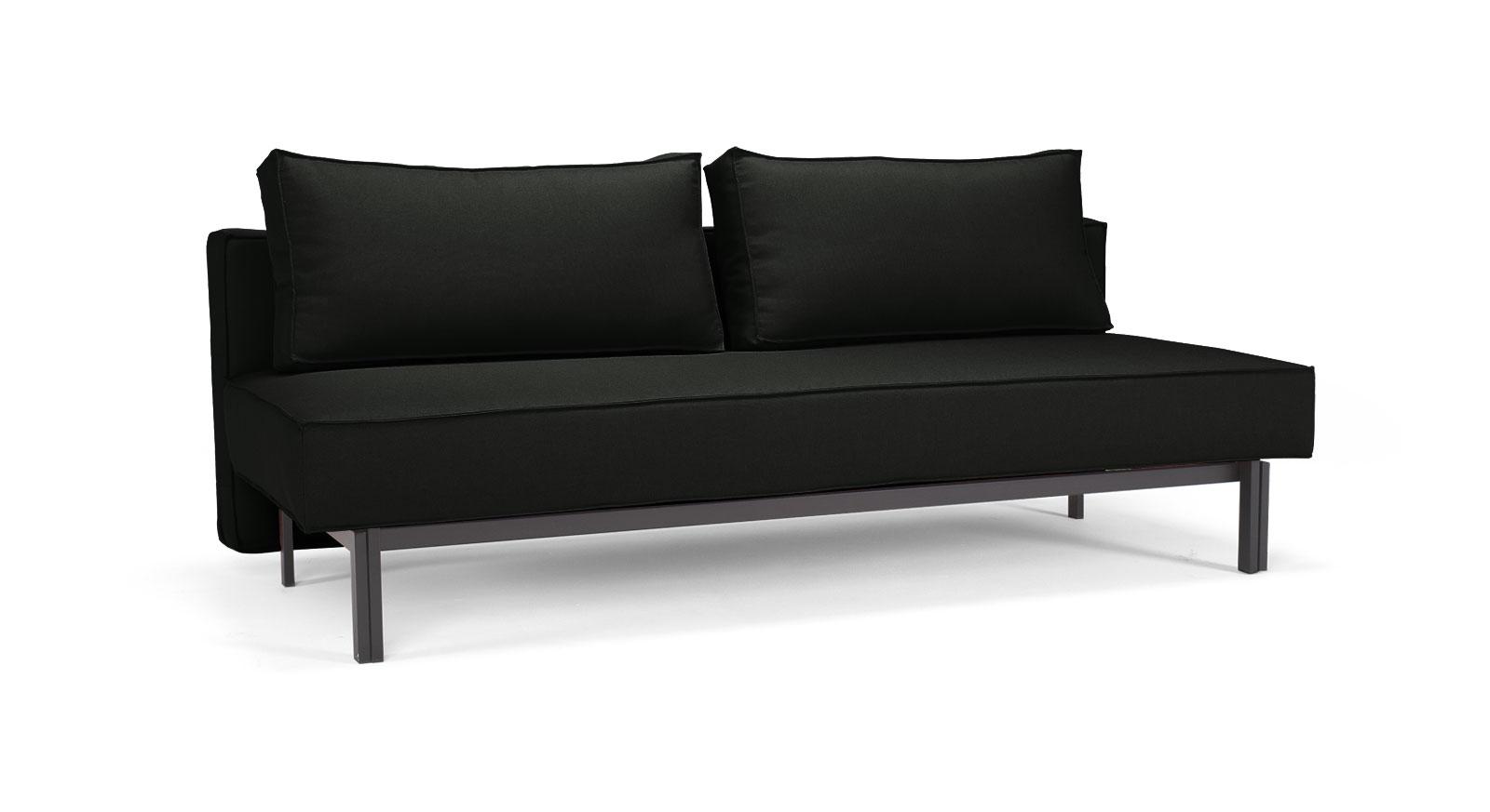 schlafsofa mit federkern und 140x200cm liegefl che ellwood. Black Bedroom Furniture Sets. Home Design Ideas
