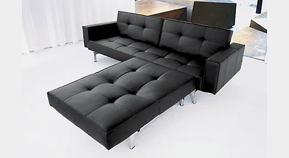 Schlafsofa Flash Light Schwarz