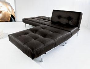 Schlafsofa leder  Schlafsofas aus Leder mit Bettkasten kaufen | BETTEN.de