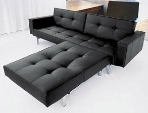 schlafsofas aus leder mit bettkasten kaufen. Black Bedroom Furniture Sets. Home Design Ideas