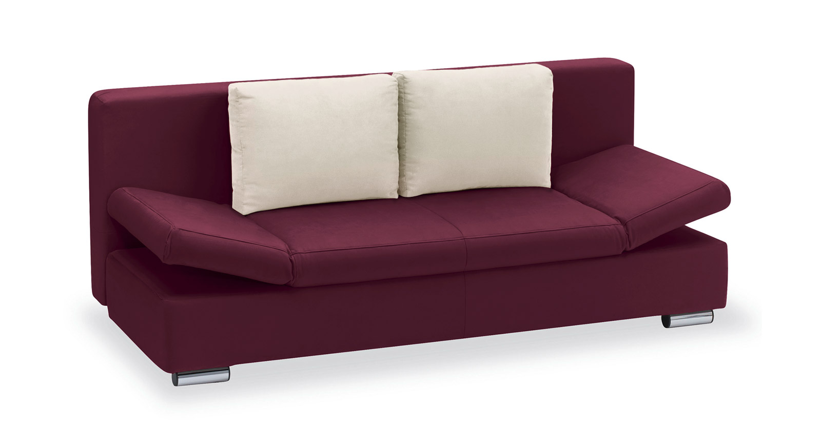 Schlafsofa Moon Bay Microvelours violett