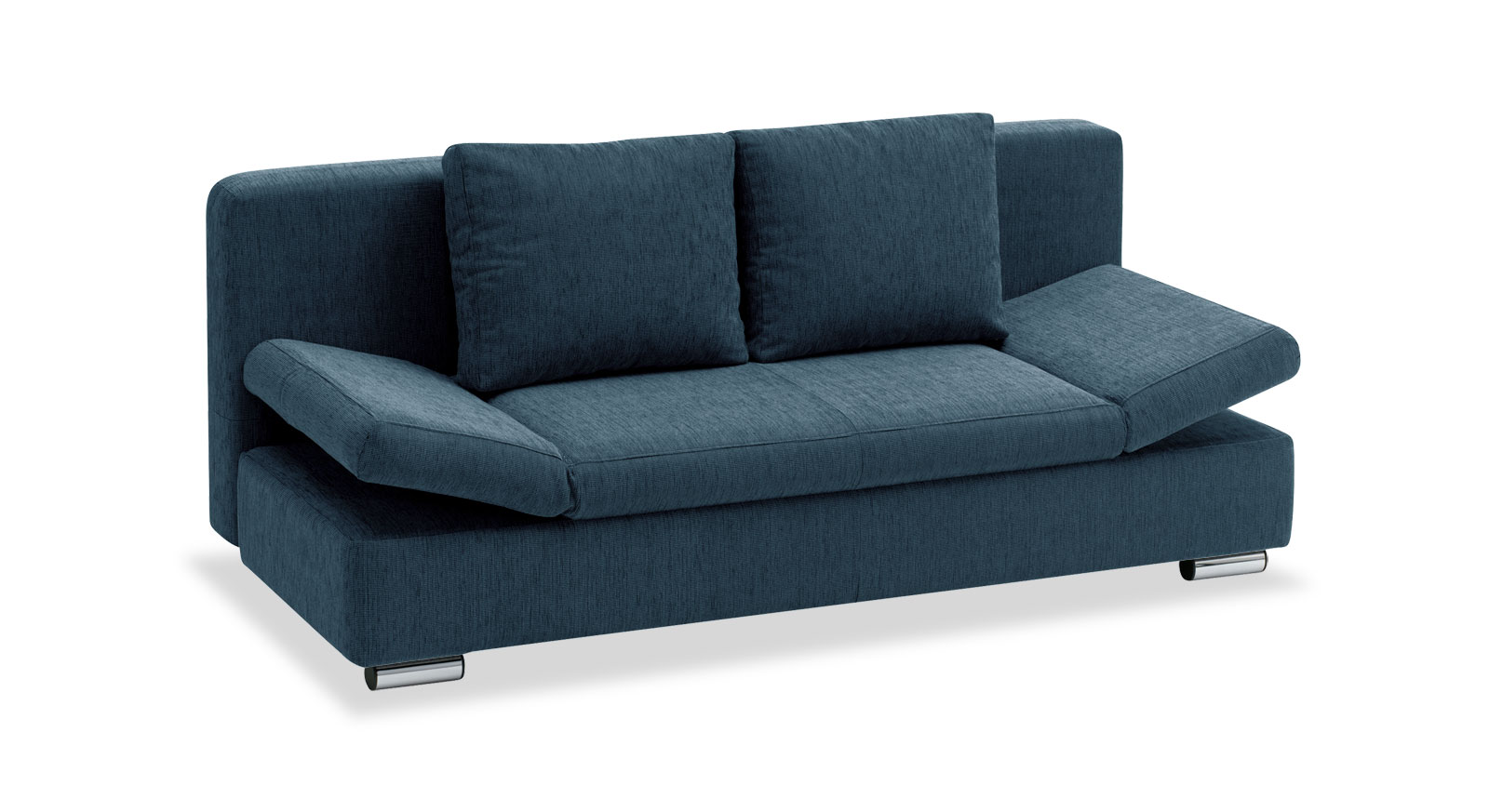 Schlafsofa New-Jamboree mit Webstoff in Blau