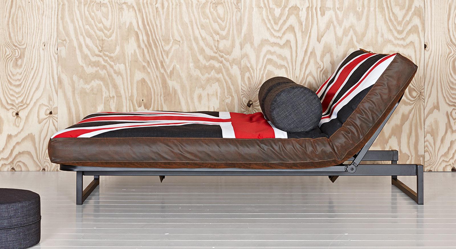 schlafsofa mit britischer flagge als motiv rockstar deluxe. Black Bedroom Furniture Sets. Home Design Ideas