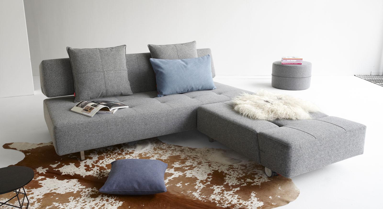 Schlafsofa Ross mit optional erhältlichen Sessel