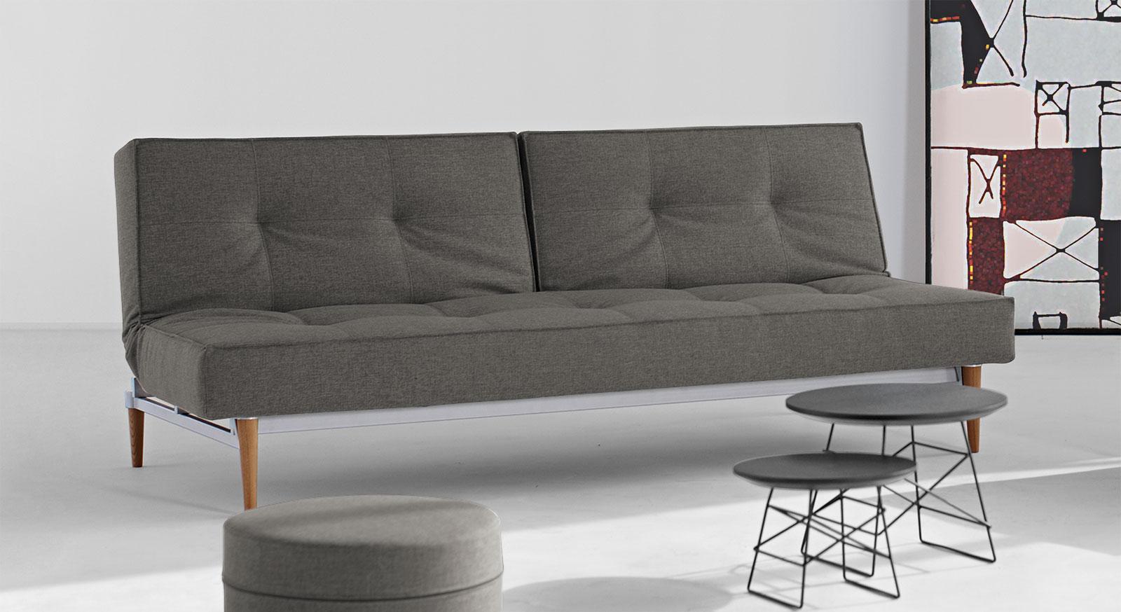 taschenfederkern schlafsofa in grau oder blau walton. Black Bedroom Furniture Sets. Home Design Ideas