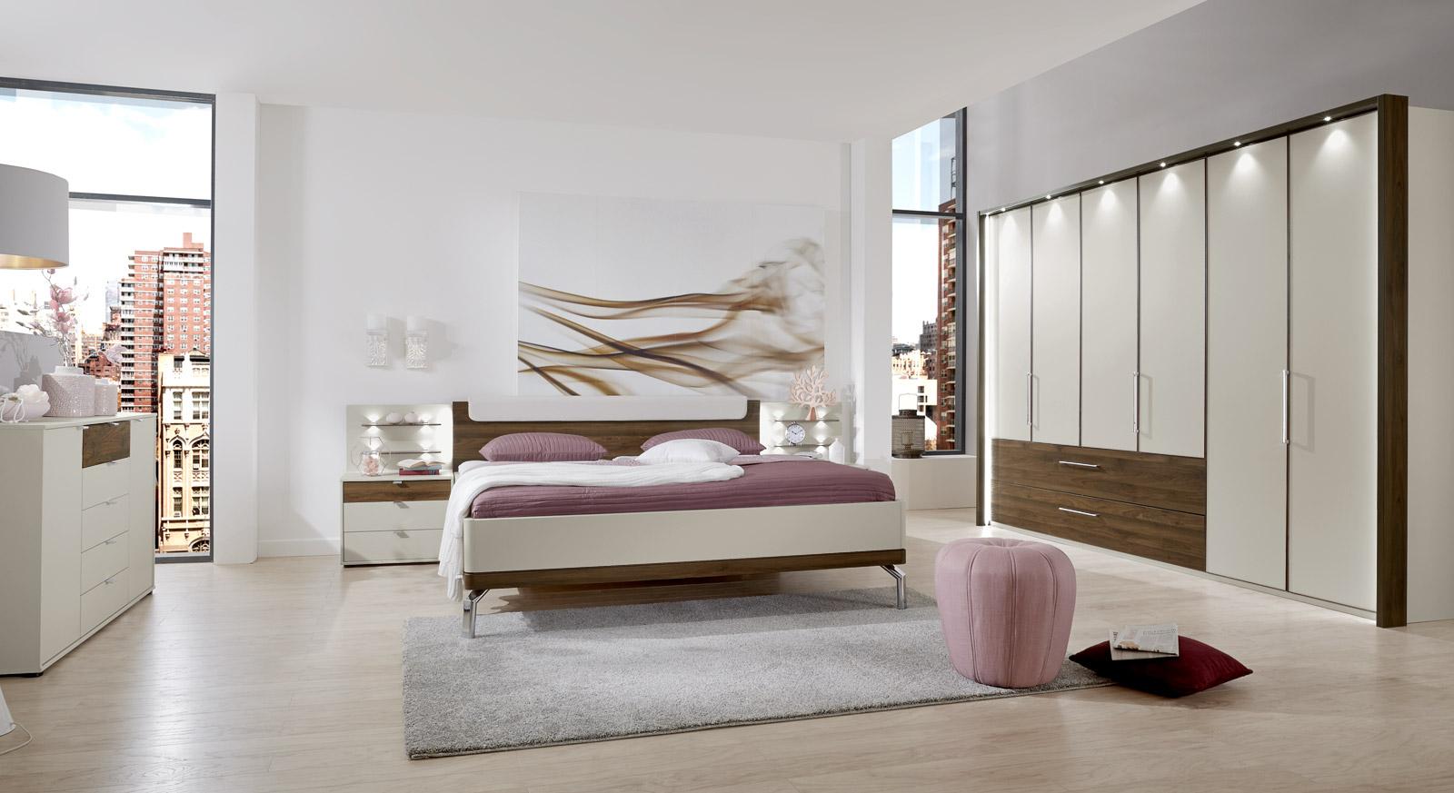 Lieblich Modernes Schlafzimmer Akola In Nocce Und Champagner Dekor