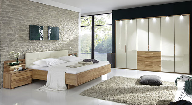 schlafzimmer eiche. Black Bedroom Furniture Sets. Home Design Ideas