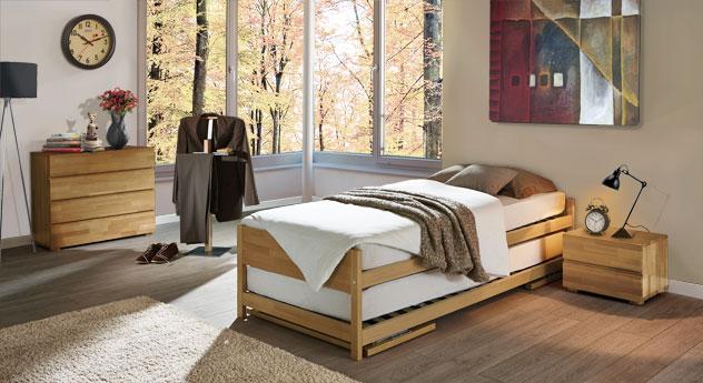Schlafzimmer On Tops passende Produkte in Buche