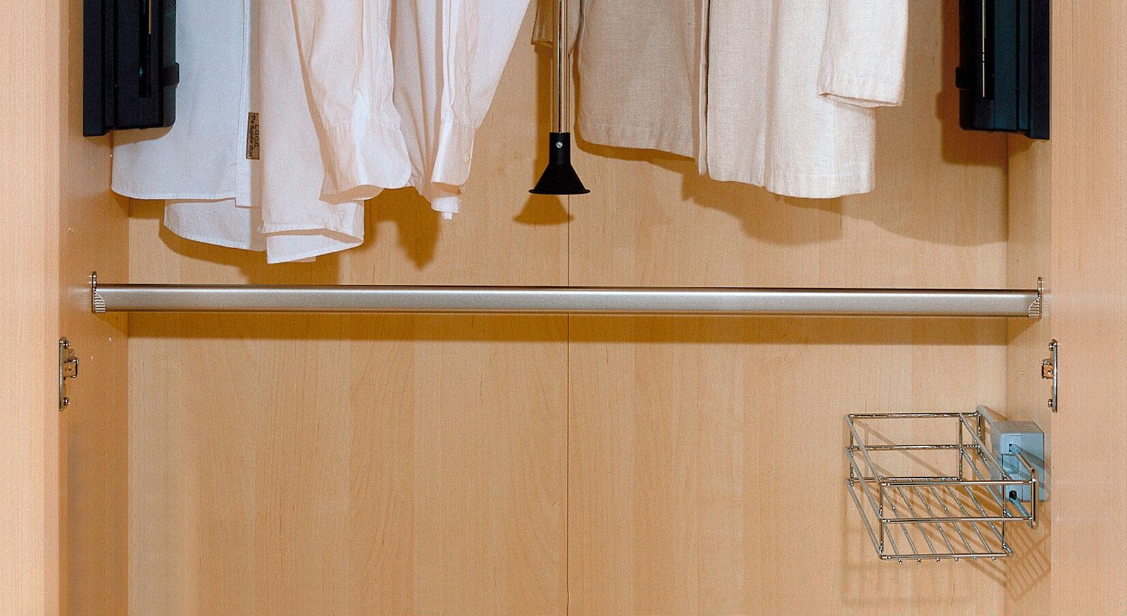Kleiderstange als Schrank-Zubehör