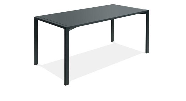 schreibtisch mit metallgestell z b in wei felipe. Black Bedroom Furniture Sets. Home Design Ideas