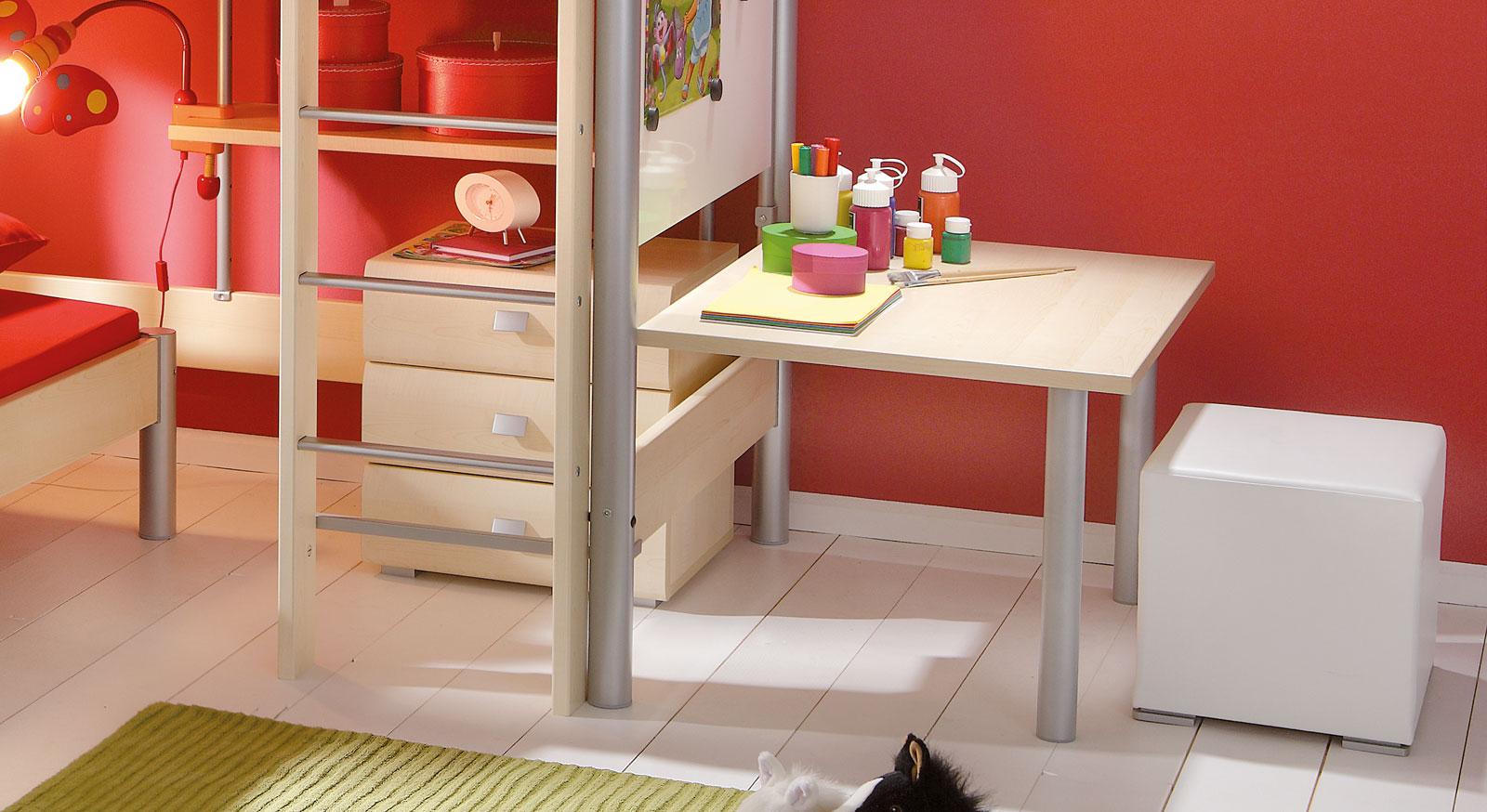 Schreibtisch Kim Anbautisch Magnetboard