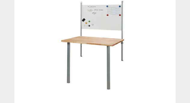 Schreibtisch Bastian Variante mit Magnettafel