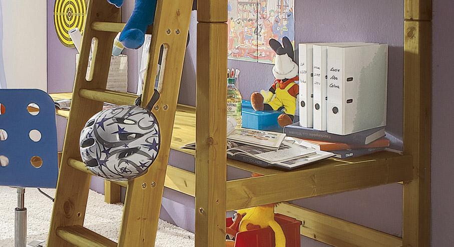 Schreibtischplatte Kids Paradise Kiefer Gelaugt