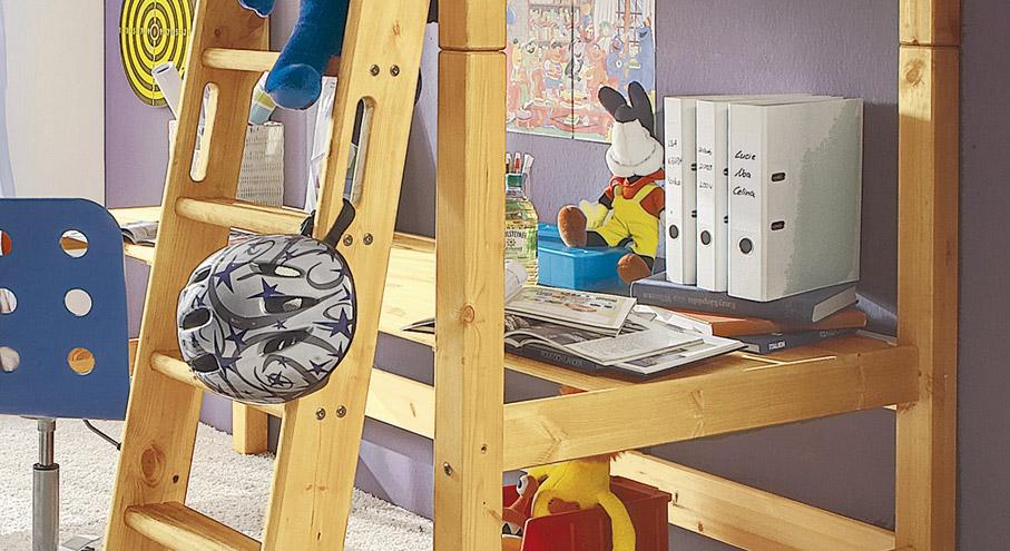 Schreibtischplatte Kids Paradise Kiefer Natur