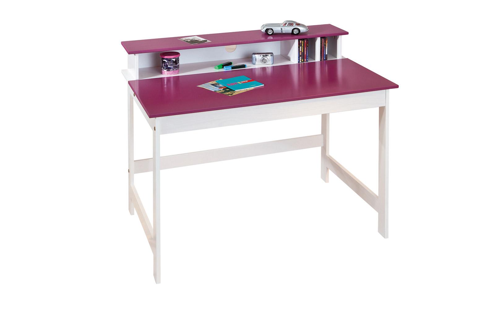 Schreibtisch mit beschreibbarer Fläche
