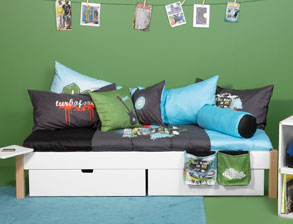 funktionsbetten f r kinder mit rausfallschutz g nstig kaufen. Black Bedroom Furniture Sets. Home Design Ideas