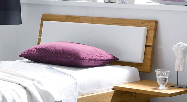 Stabiles Kopfteil vom Schubkasten-Bett Leova