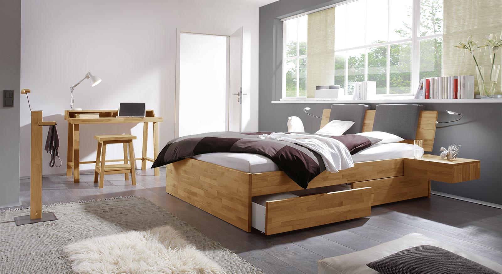 Passende Produkte für das Schubkasten-Bett Manchester