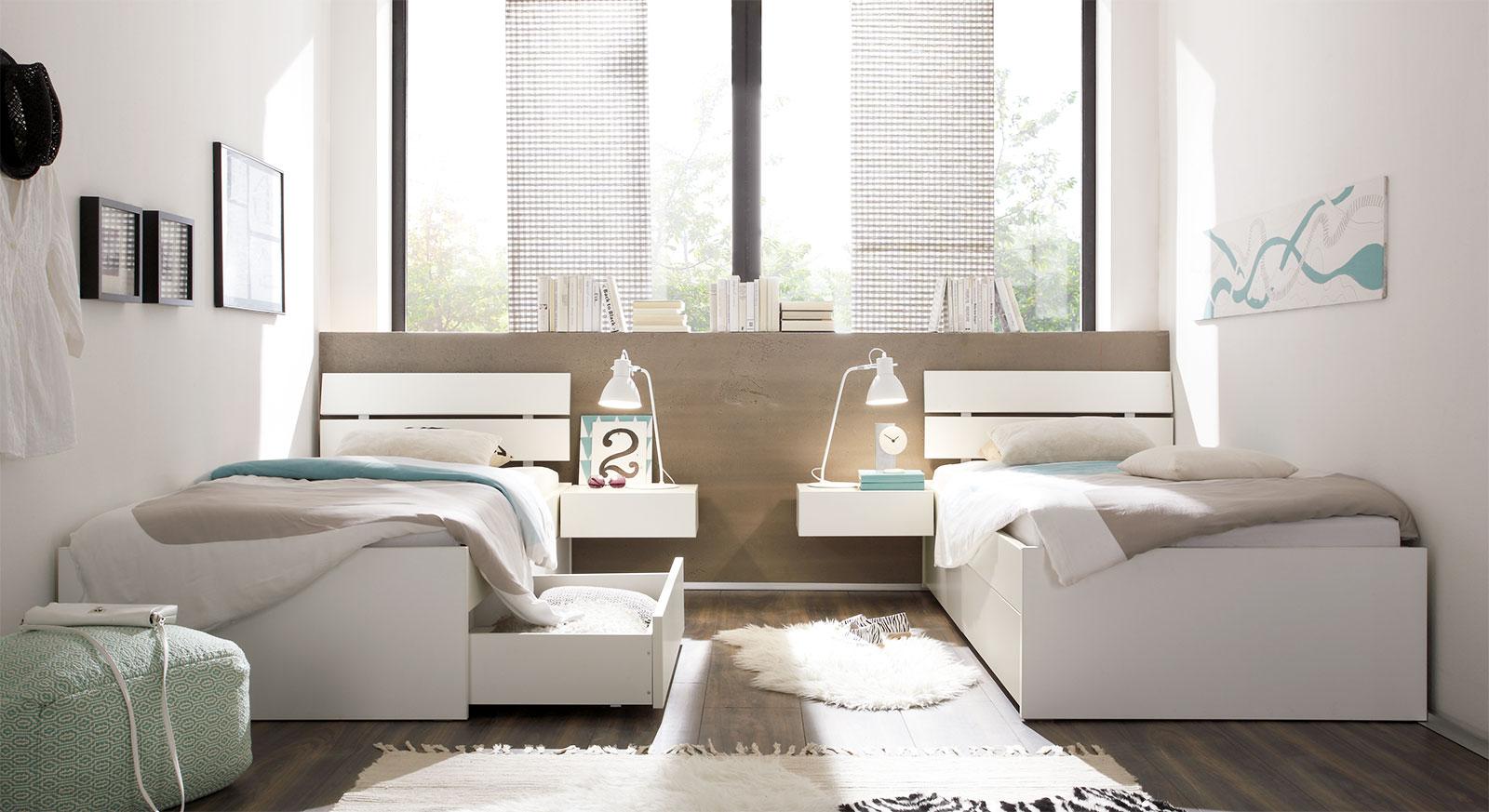 Schubkasten-Bett Mocuba mit passenden Produkten