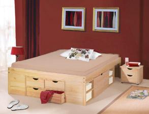 Betten mit Bettkasten und Schubladen günstig kaufen