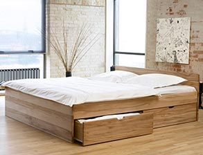 holzbetten f r ihr schlafzimmer g nstig kaufen. Black Bedroom Furniture Sets. Home Design Ideas
