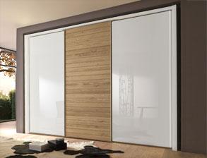 kleiderschrank schiebet ren. Black Bedroom Furniture Sets. Home Design Ideas