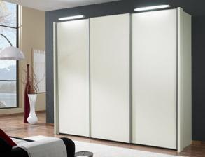Kleiderschrank schiebetüren weiß hochglanz  Edle Kleiderschränke günstig für Ihr Schlafzimmer | BETTEN.de