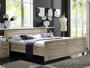 seniorenbett mit elektrischem lattenrost g nstig bei. Black Bedroom Furniture Sets. Home Design Ideas