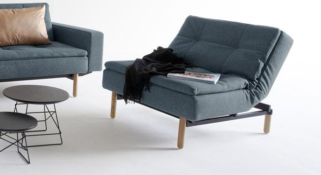 relax sessel mit taschenfedern und schaumstoff topper carol. Black Bedroom Furniture Sets. Home Design Ideas