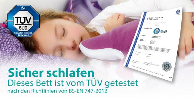 LIFETIME - Sicher schlafen mit TÜV-Siegel