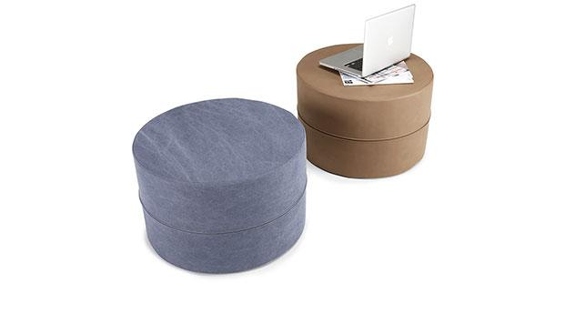 Hochwertiger Sitzhocker für Schlafsofas (groß)