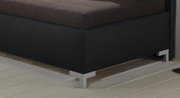 Schlafsofa Anteo Rahmen mit Kunstlederbezug