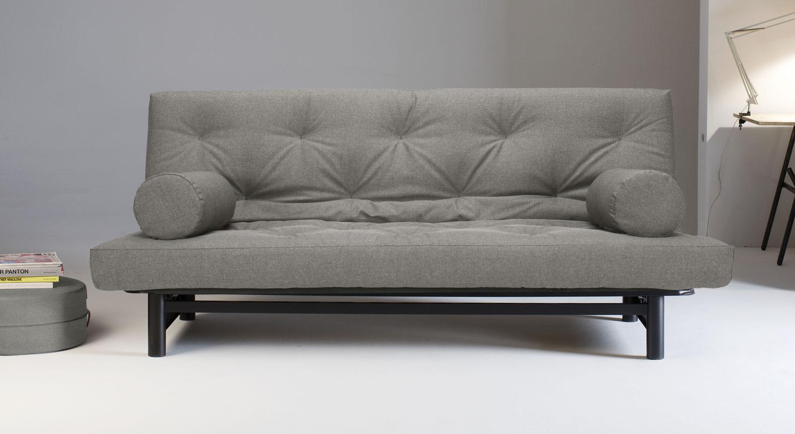 Sofa Del Mar mit grauem versteppten Bezug