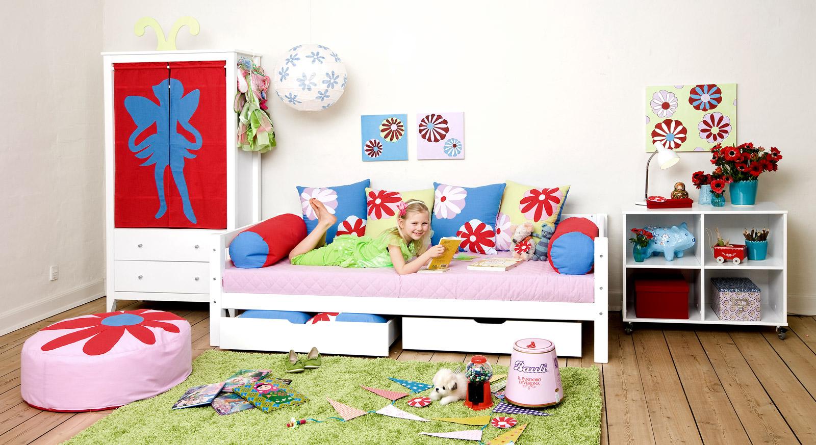 Sofabett Kids Royalty mit dazu passenden Produkten