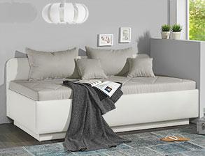 schlafsofa mit matratze auf rechnung kaufen. Black Bedroom Furniture Sets. Home Design Ideas